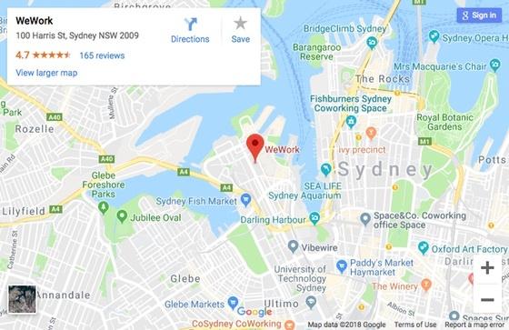 Sydney HUG at WeWork Pyrmont